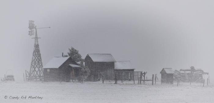 Winter in the Badlands/1880 Townsite