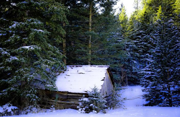 Winter in Northern Hills