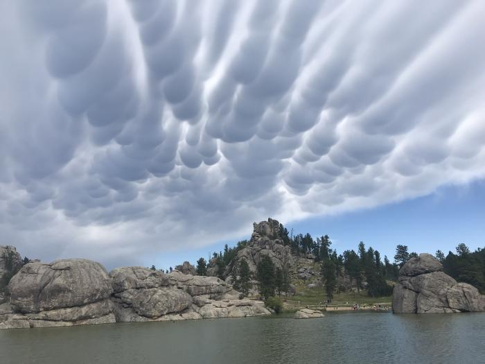 Sylvan Lake Cloud Cover