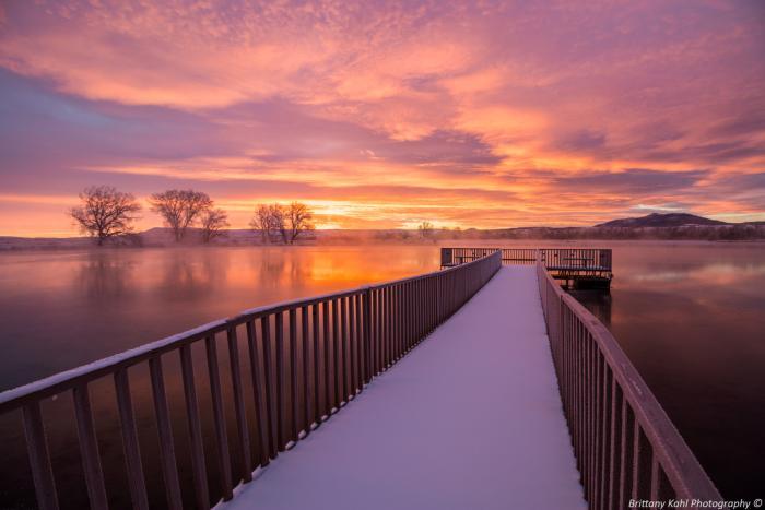 Cox Lake Sunrise