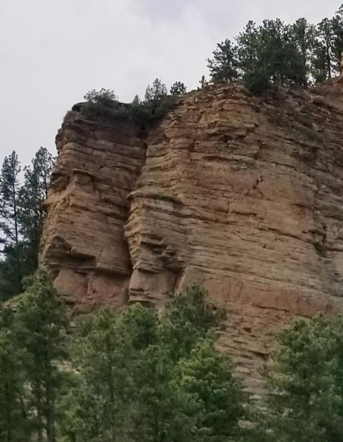 Cliff Faces of The Black Hills