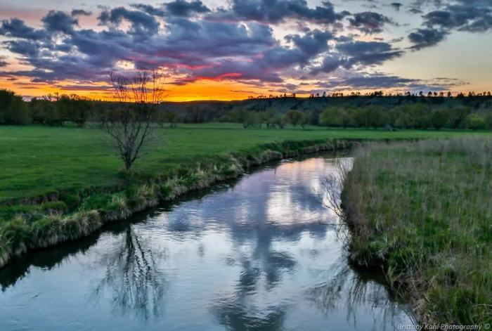 Redwater Sunset