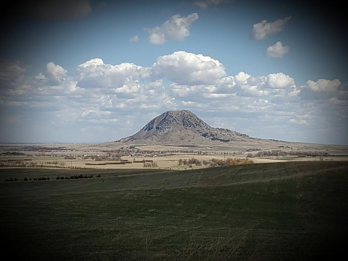 Clouds Over Bear Butte
