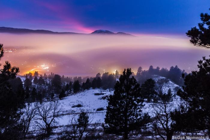Fog Over Spearfish