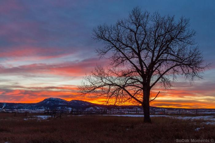 Sunset Over Spearfish