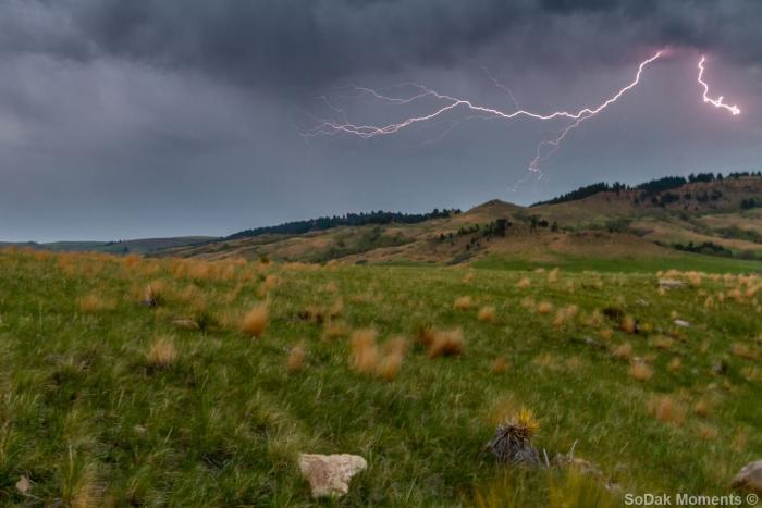 Storm near Spearfish