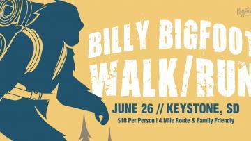 Billy Bigfoot Walk/Run