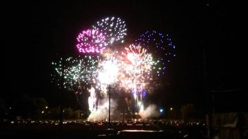 Black Hills Roundup Fireworks