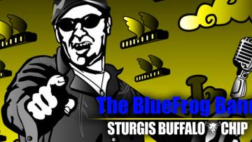 The BlueFrog Band at the Sturgis Buffalo Chip