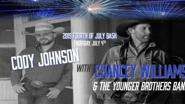 Cody Johnson Fourth of July Bash