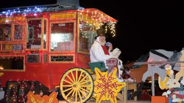 Custer Christmas Parade