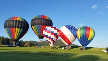 Custer Gold Discovery Days Hot Air Balloon Launch