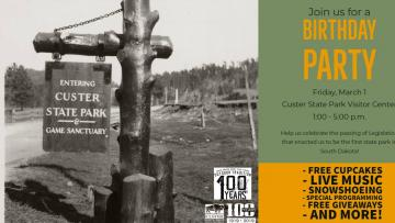Custer State Park's Birthday Celebration