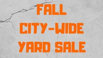 Fall City-Wide Yard Sale