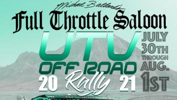 Full Throttle Saloon UTV Off-Road Rally