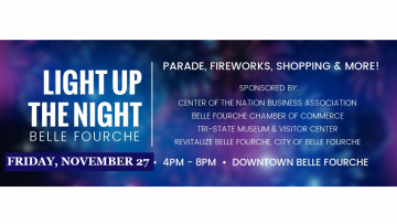 Light Up The Night - in Belle Fourche!