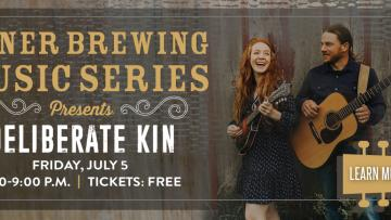 Miner Brewing Music Series Presents: Deliberate Kin