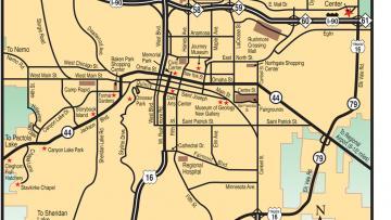 Maps Black Hills Badlands South Dakota