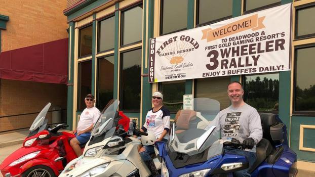 Deadwood 3 Wheeler Rally