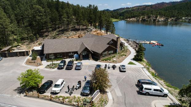 Legion Lake Lodge at Custer State Park