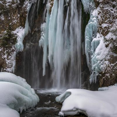 Icy Spearfish Falls