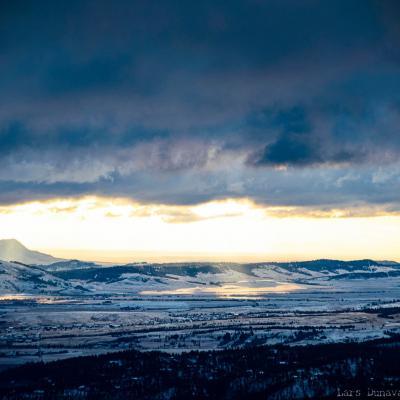 Sunrise from Crow Peak