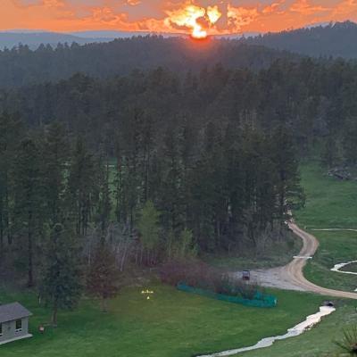 Custer Sunset