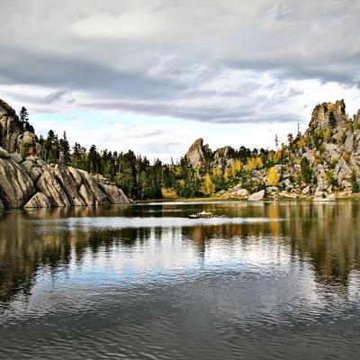 Sylvan Lake Autumn