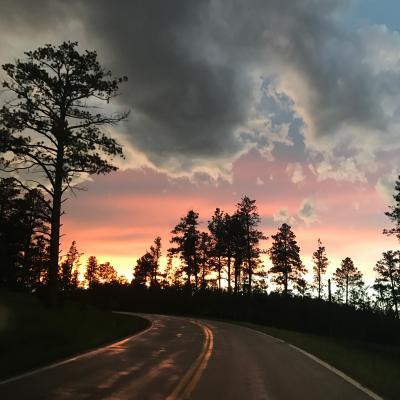 Sunset Off Nemo Road