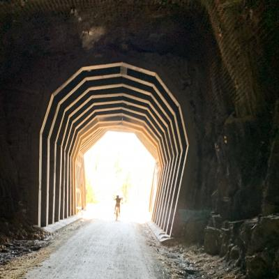 George Mickelson Trail Tunnel