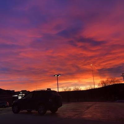 Sunrise Over Sturgis
