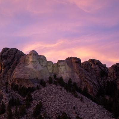 Sunset Rushmore