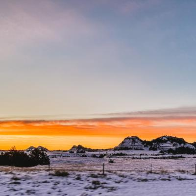 A Morning in the Badlands