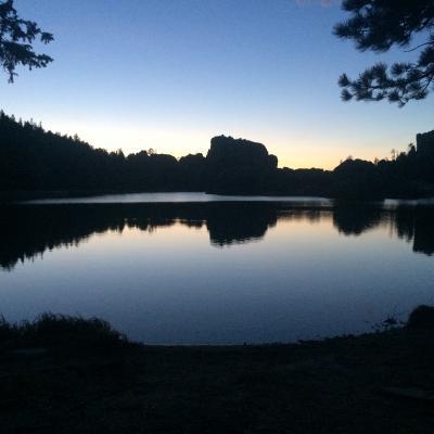 Sylvan Lake at Sunset