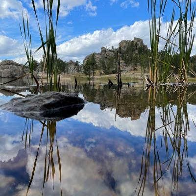 The Stillness of Sylvan Lake in September