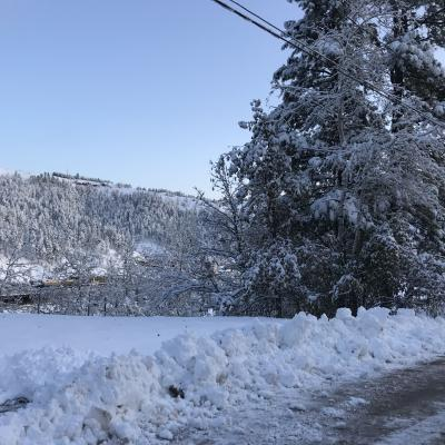 Snow Over Deadwood