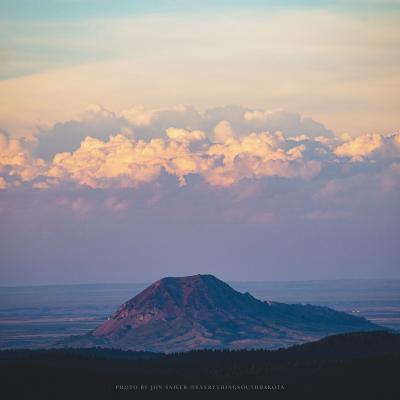 Bear Butte from Deadwood's White Rocks