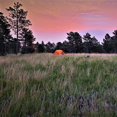 Backpacking in Wind Cave National Park