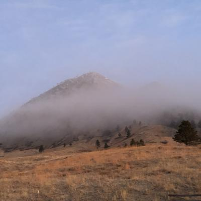 Bear Butte Cloud Cover