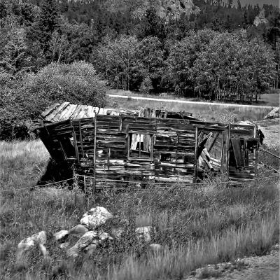 Cabin at Crazy Horse