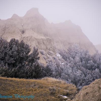 Frosty Morning - Badlands National Park