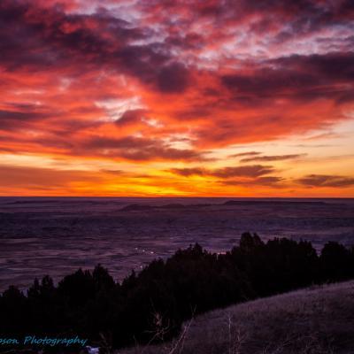 Badlands Sunrise