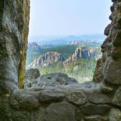 Black Elk Peak - Window View
