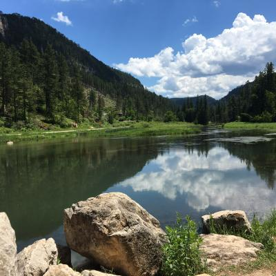 Summer in Spearfish Canyon