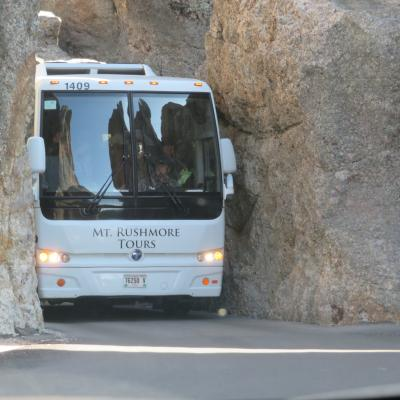 Tight Squeeze Through the Needles Tunnel