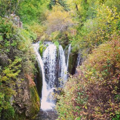 Roughlock Falls in Autumn