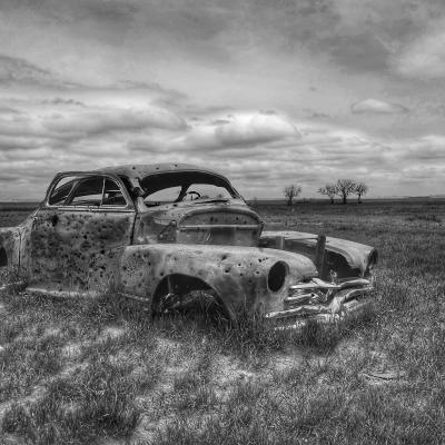 Abandoned Car in Conata