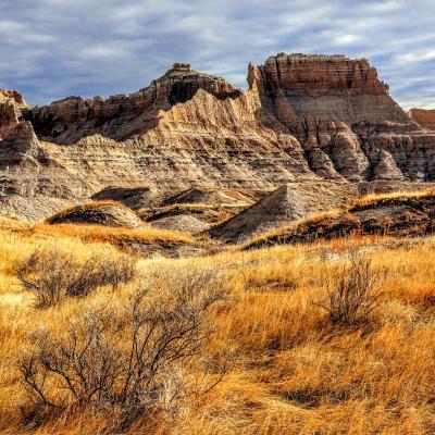 The Edge — Grasslands Meets Badlands