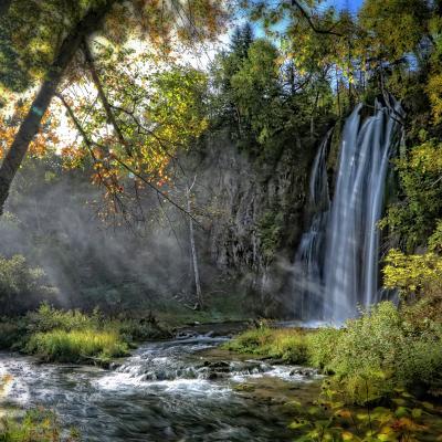 Misty Spearfish Falls