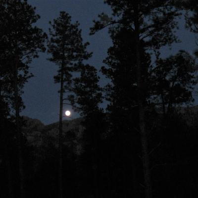 Moon in the Hills